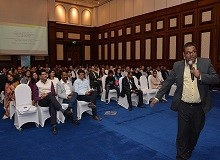 Raj Dam, founder of QuizWorks, was the quizmaster for the quiz event