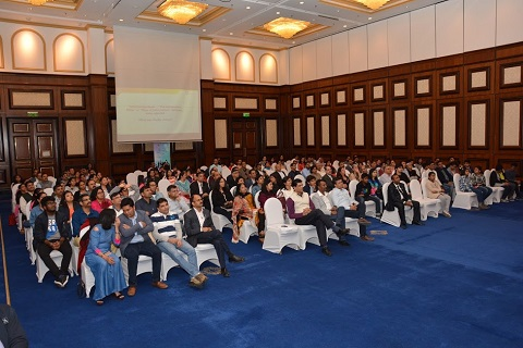 The audience at the quiz night held at Crowne Plaza, Bahrain